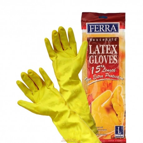 FERRA House Hold Latex Hand Gloves