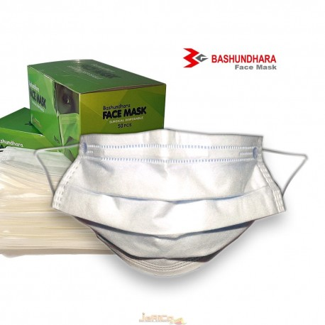 Surgicale  Disposable Face Mask, Basundhara face Mask