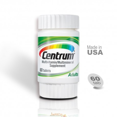 Centrum Audult Multi Vitamin, USA-60 Tablet