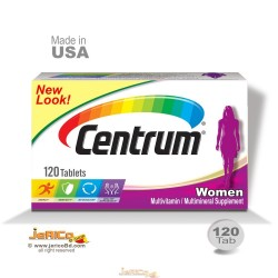Centrum Women Multi Vitamin, USA-120 Tablet