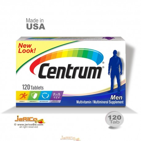 Centrum Men Multi Vitamin, USA-120 Tablet